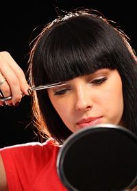 cutting your fringe