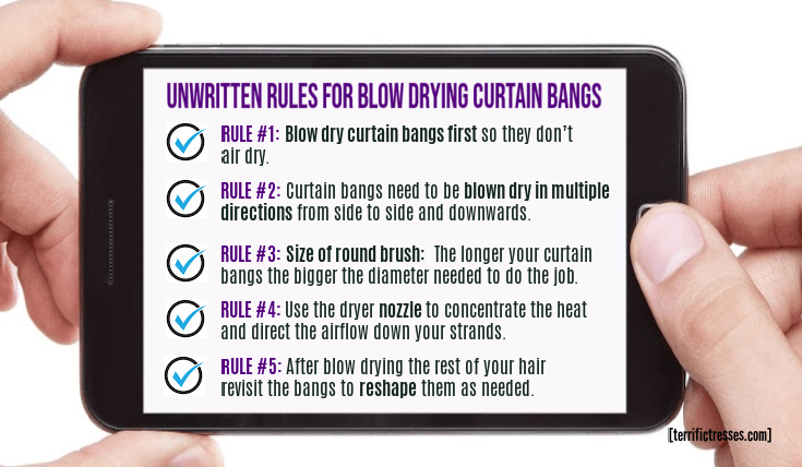 how to blow dry curtain bangs, how to style curtain bangs with a hair dryer, how to style curtain bangs with a blow dryer, how to blow dry curtain bangs with round brush, how to style curtain bangs with a round brush, how to blow out curtain fringe, how to blow dry long curtain bangs