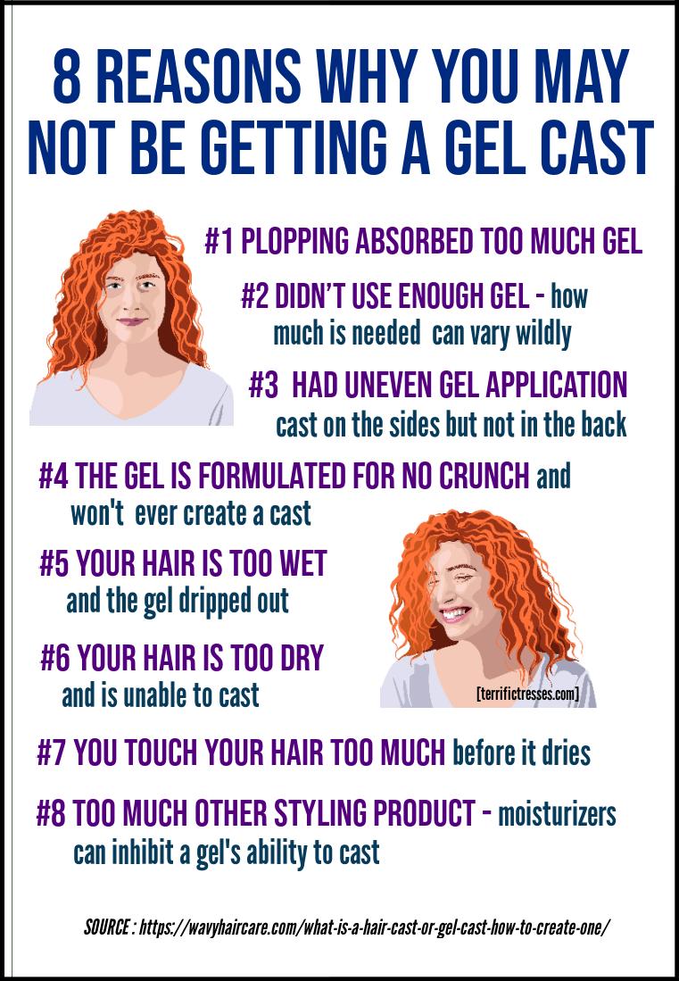 styling curly hair with gel, gel cast, can't get gel cast, break gel cast, how to get rid of gel cast curly hair, how to apply hair gel, how to use hair gel, how to use styling gel, how to apply gel to curly hair
