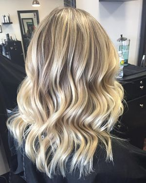 beachy waves for straight hair