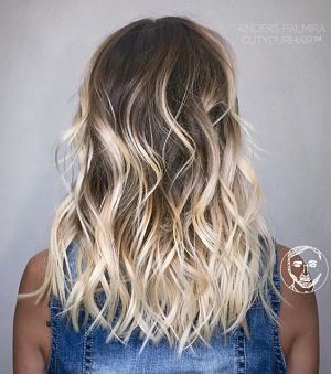 beach waves for straight hair