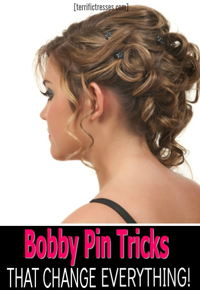 Bobby Pins 101 suggests there are three keys to success and one little known technique many swear by that can make all the difference.  Plus for sure you don't want to be guilty of any of the mistakes far too many make when using these little hair holding wonders.  Worth checking out, no? | TerrificTresses