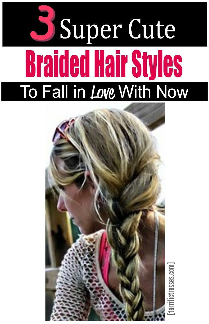 Braiding.  Sure sounds easy enough.  Few styles beat the simple sophistication of braids.  Plus they're always trending.  But if you're all thumbs when it comes to braiding your hair you'll want to wrap your head about the real life tips shared here.  Three deceptively easy braids await any budding dream-weaver-in-waiting. | TerrificTresses