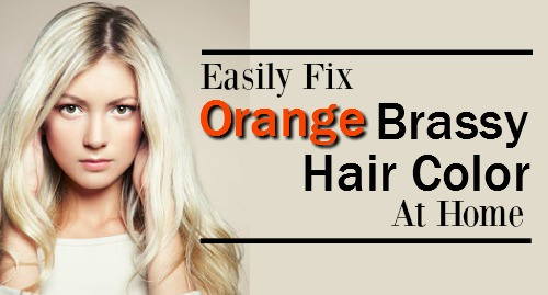 Easily fix orange brassy hair at home terrific tresses how to fix brassy hair solutioingenieria