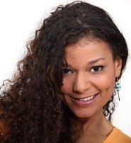luscious dark curls