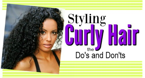 How To Style Curly Hair Do S And Dont S