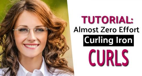 fast curling iron curls