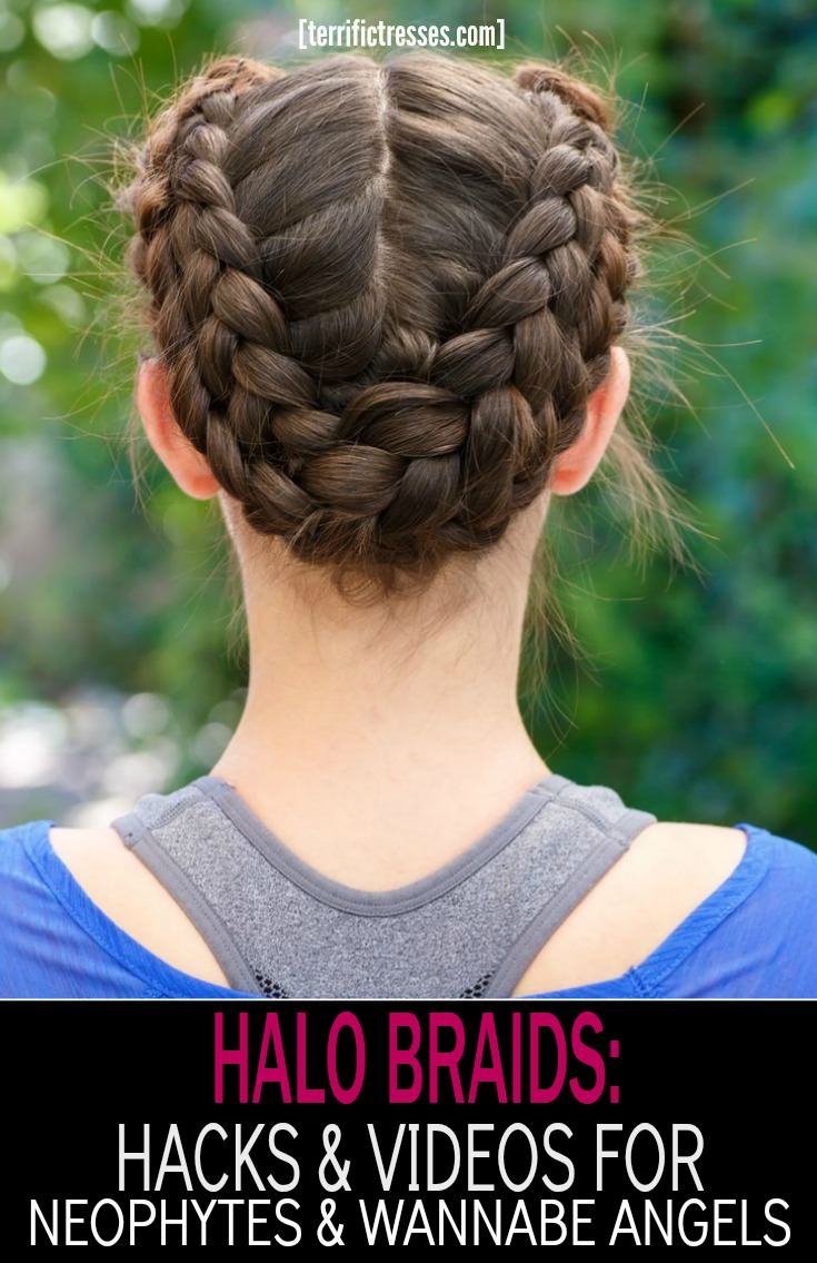 TerrificTresses.com shows you how to rock halo braids with the help of a step-by-step video tutorial and seven halo hacks.  Even if you're a French braiding neophyte you'll be taking your braiding skills to the next level and have second day hair looking totally chic and boho in no time.