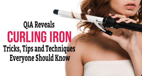curling iron techniques. curling iron tips, curling iron tricks