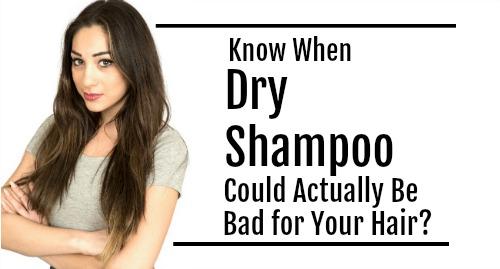 dry shampoo tips