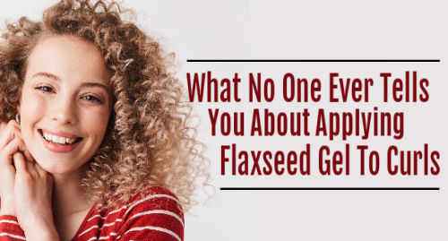 how to apply flaxseed gel to hair