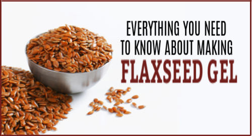 how to make flaxseed gel for hair
