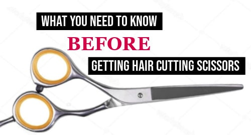 what kind of scissors to cut hair