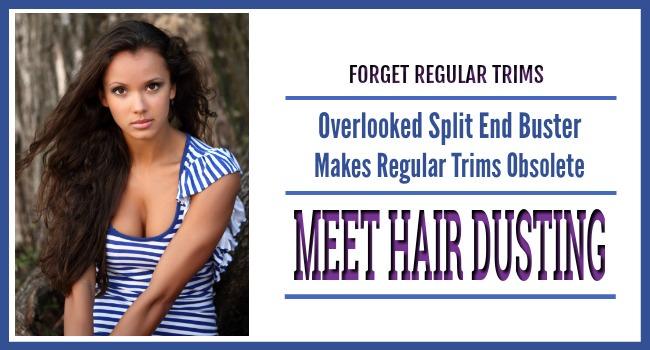 diy hair dusting