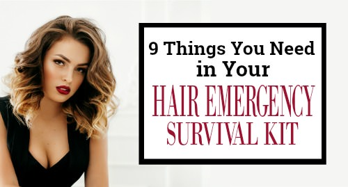 fixing hair emergencies