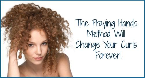 praying hands method