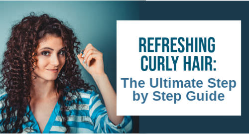 how to refresh curly hair