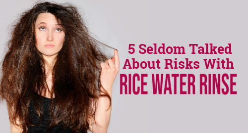 can rice water damage your hair