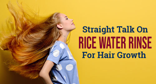 how long does it take for rice water to grow your hair