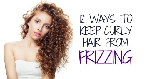 frizzy curly hair tips, why is curly hair frizzy