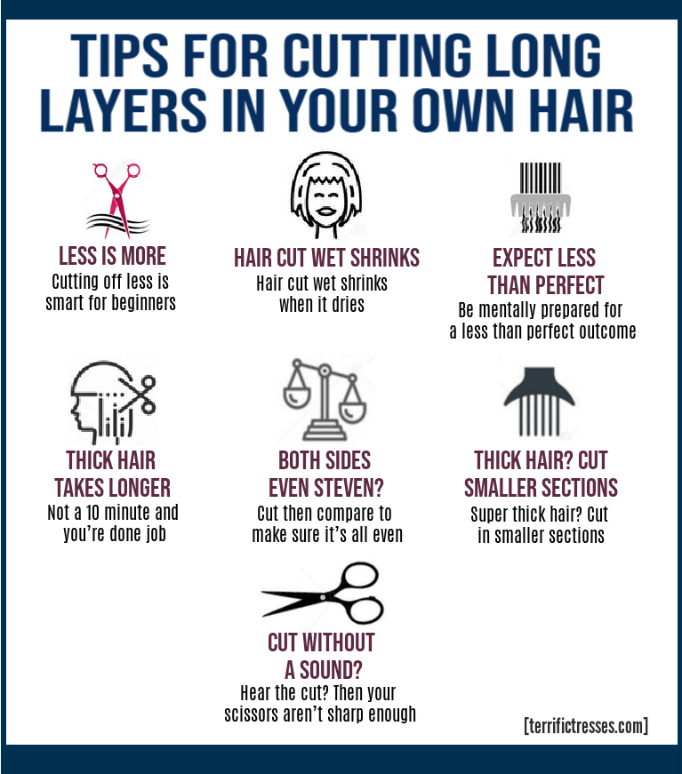 how to cut layers in long hair yourself, how to layer long hair yourself with scissors, how to layer your own long hair, soft layers long hair, diy long layered hair, how to cut your own hair in long layers, layering long hair at home, layering long hair yourself, cutting long layers in your own hair, layered long straight hair