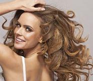 luscious blonde hair