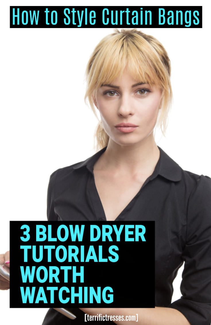 Your How To Blow Dry Curtain Bangs Beginner's Guide