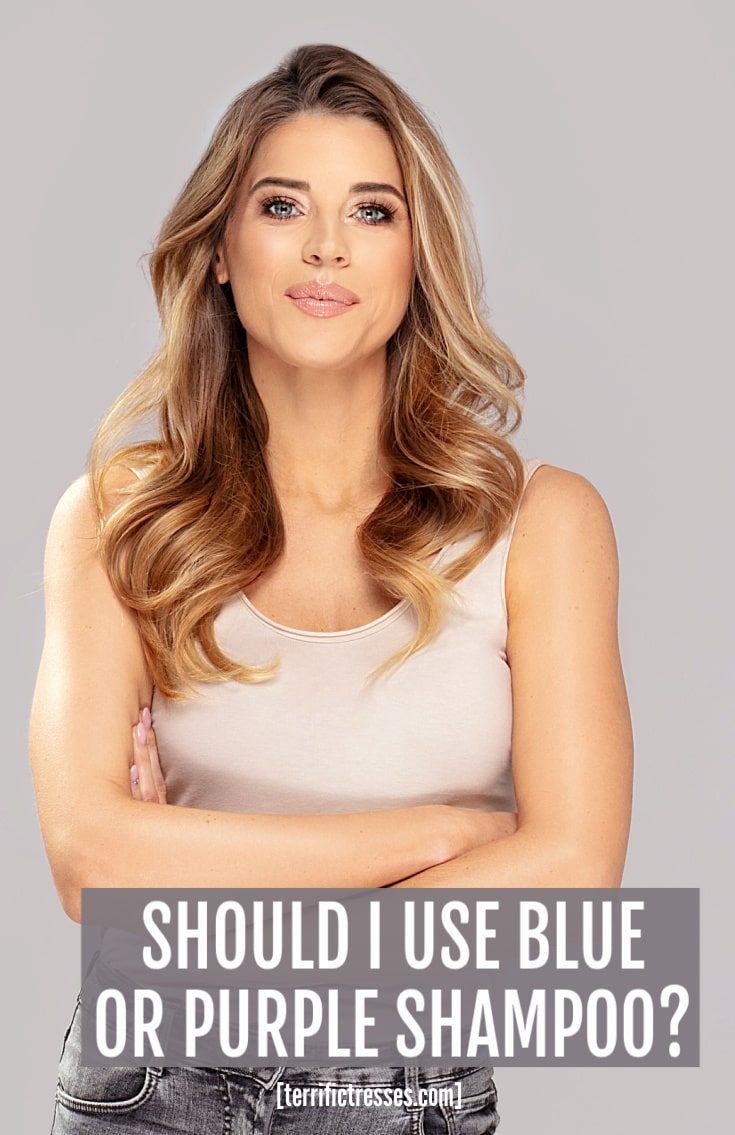 Blue Versus Purple Shampoo Which Saves You From Brassy Hair?