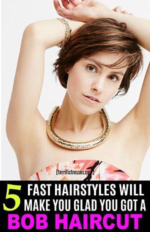 pin styling bob haircuts