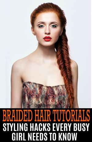 easy braided hair tutorials