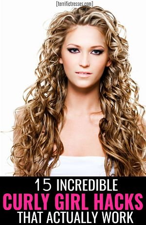 pin-curly girl hacks
