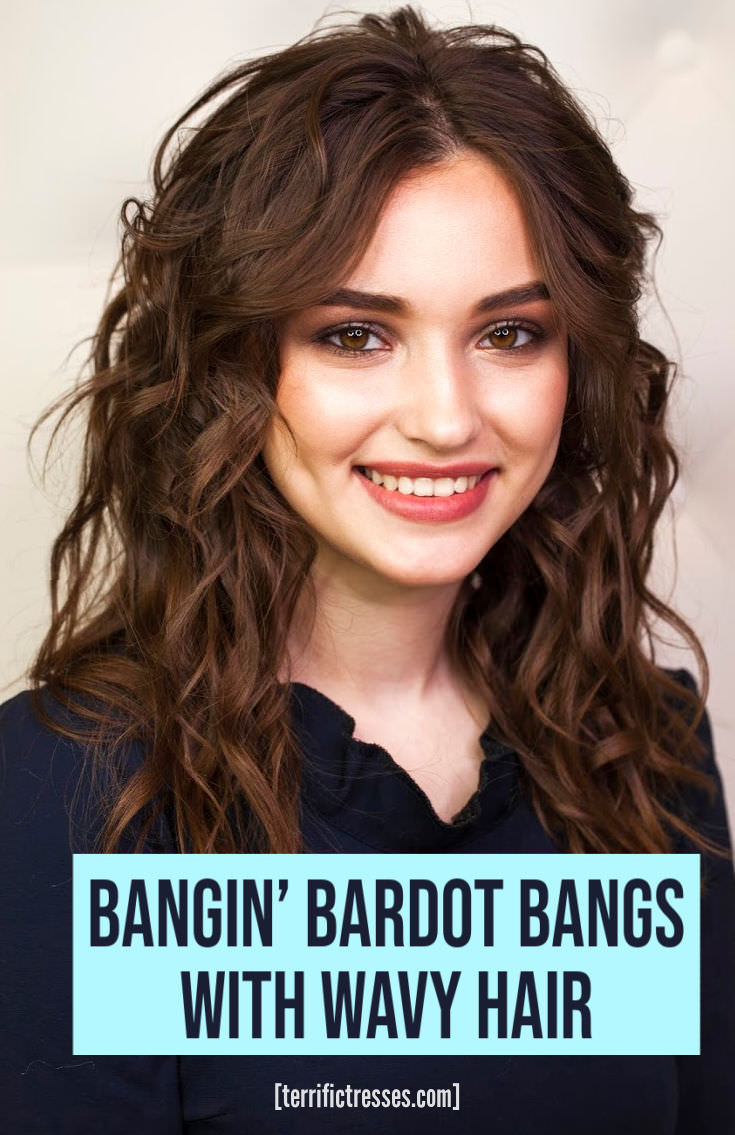 Curtain Bangs Wavy Hair | Expectation vs Reality
