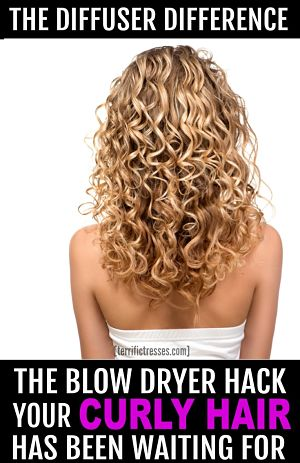 hair dryer diffuser hacks