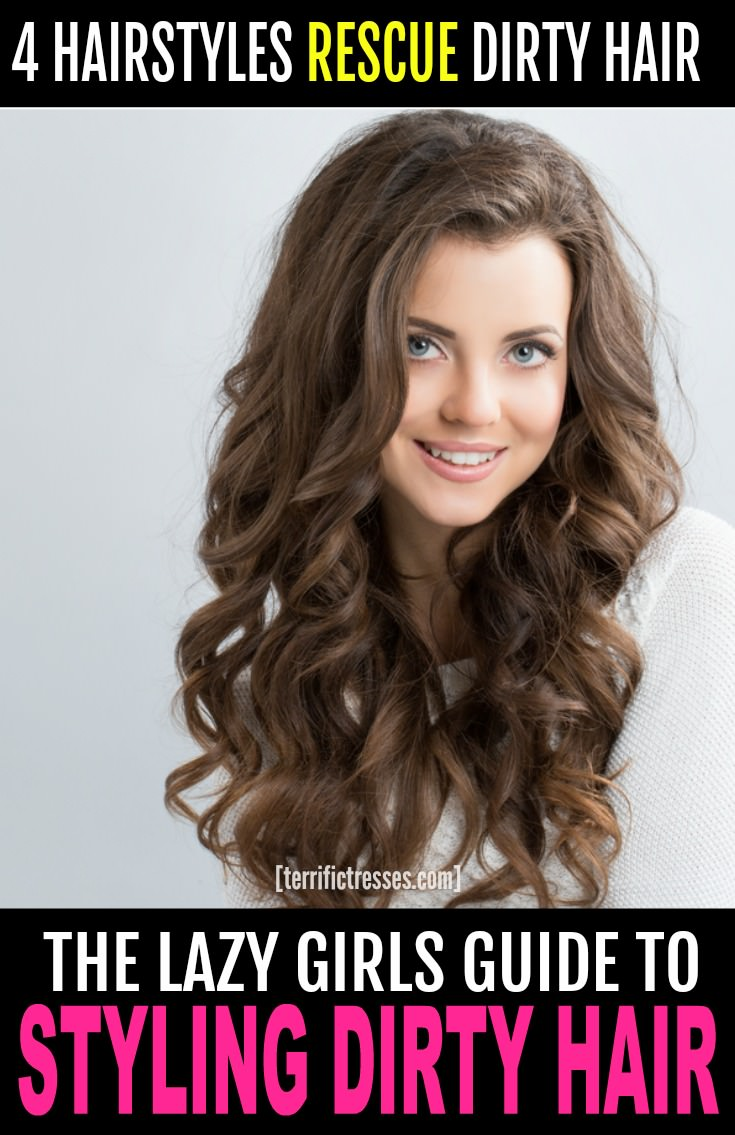 We at TerrificTresses.com feel second day hair gets a bad rap.  These ideas, cute styles and easy hacks prove your mane doesn't have to look even a little gross or greasy.  Your dirty strands can look clean even if they're not – exactly! Here's how to give your lived in locks some love when you don't have time to shampoo.