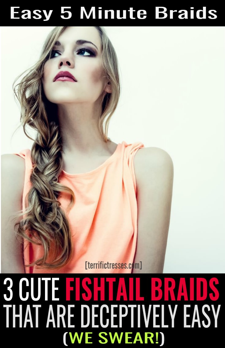 Love braids?  Get ready to be inspired.  Plaits on the side are both eye catching and elegant. Plus perfecting your fishtail braiding skills makes for a crucial hair hack for mornings when you're pressed for time.  Grab three braided hair looks that are simply fabulous day or night.  | TerrificTresses.com
