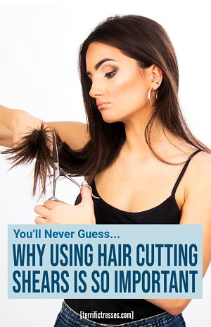 what type of scissors to cut hair