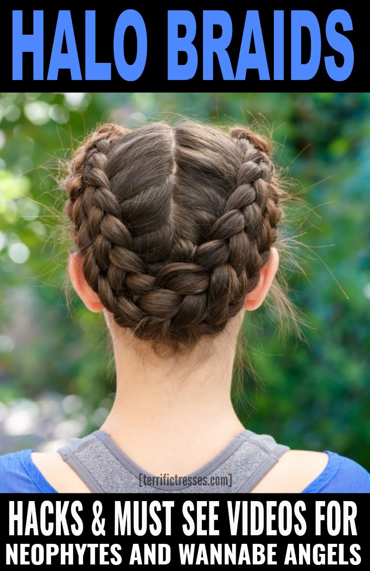 TerrificTresses.com shows you how to rock halo braids with the help of a step-by-step video tutorial and seven halo hacks.  Even if you're a French braiding neophyte you'll be taking your braiding skills to the next level and have second day hair looking totally chic and boho in no time.  | TerrificTresses.com