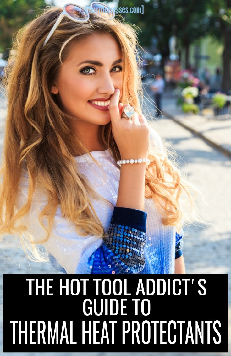 Hot styling tools can be toxic to your tresses yet there's no need for your hair to feel the burn.  Find out how heat protectant sprays make it easy to forgo the frying and guard against heat stricken strands. | TerrificTresses.com