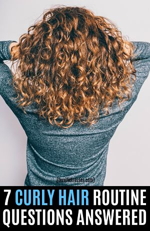 curly hair tips