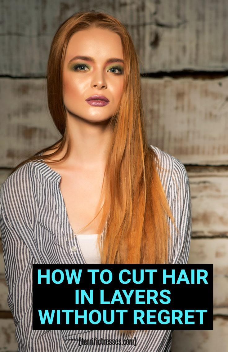 Here\'s How To Cut Hair In Layers Step By Step