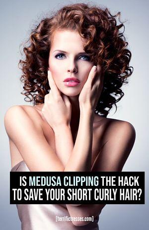 how to medusa clip hair