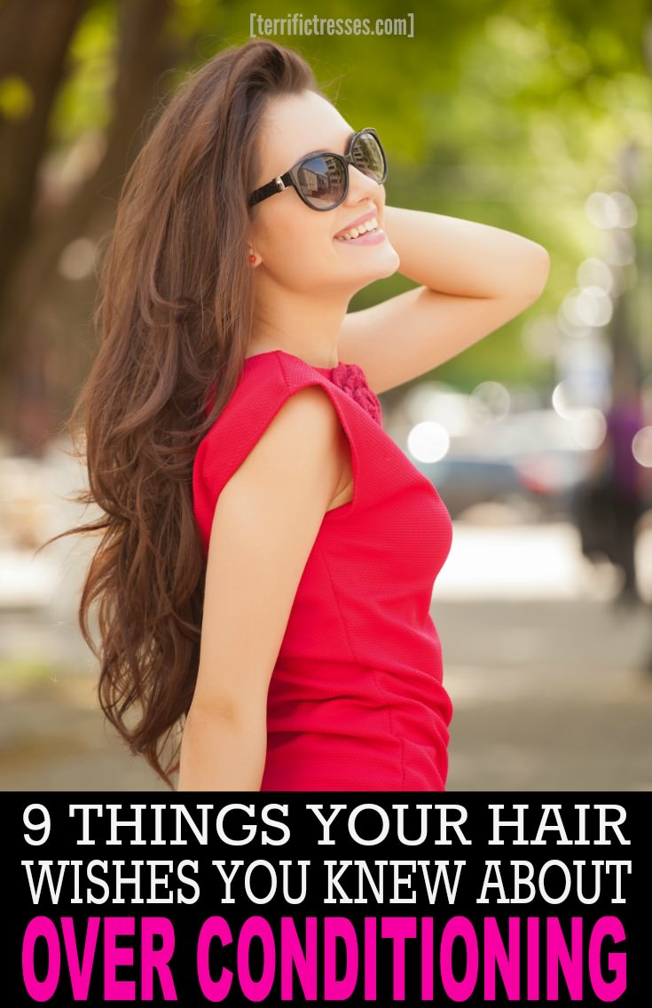 Are you addicted to conditioning? Get the scoop on the over conditioning problem few ever talk about and the insanely easy hack that will make think twice about how you shampoo and condition your hair. | TerrificTresses.com