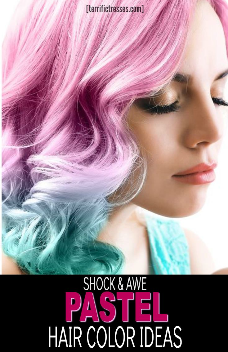 Have hot pastel hair colors caught your eye?  Yet you aren't quite ready to take the plunge to a non traditional rainbow hue?  Gotcha!  In that case why not explore the four stunning pastel hair dye tips that can keep you from feeling hemmed in while leaving you free to get in on this fun shade trend?