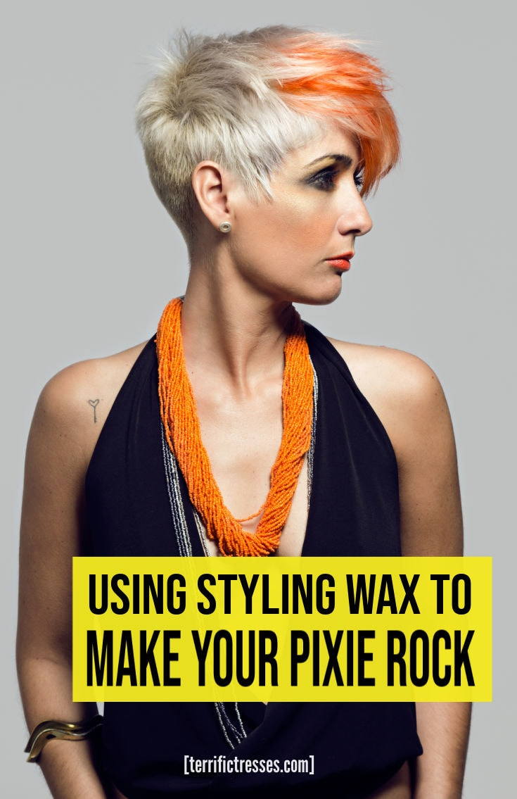 How To Easily Style Your Pixie Cut With Styling Wax