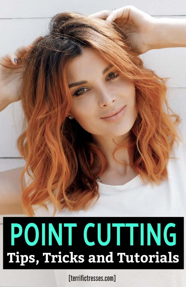 How To Point Cut Your Own Hair | Beginners Guide