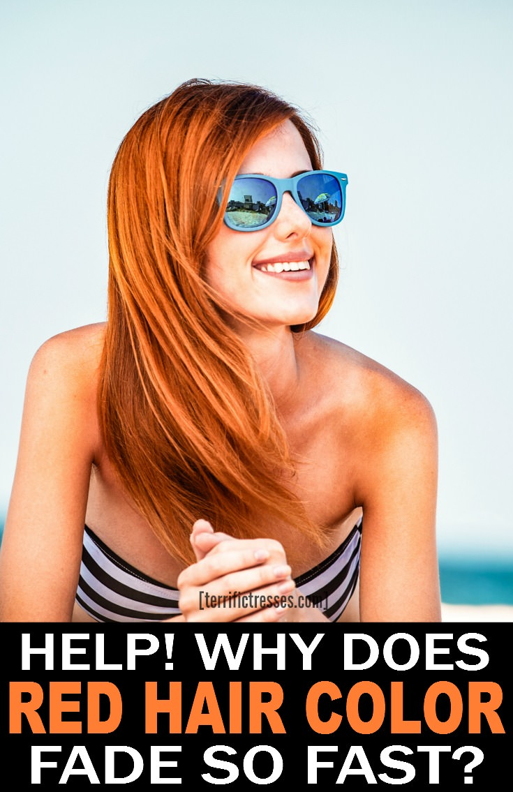 How to Stop Red Hair Fading - The Unnatural Redhead's Quick Guide