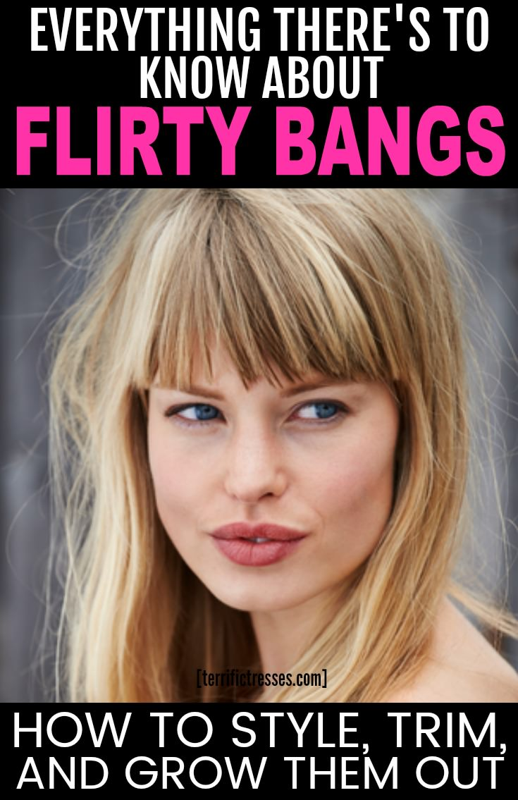 Bangs are undeniably sexy.  A cute fringe can flatter your face.  They rate high on the cuteness meter too.  Yet adding bangs to a hairstyle can be daring or a despicable mistake.  Find out who should get them and who should resist this fringe movement.  | TerrificTresses.com