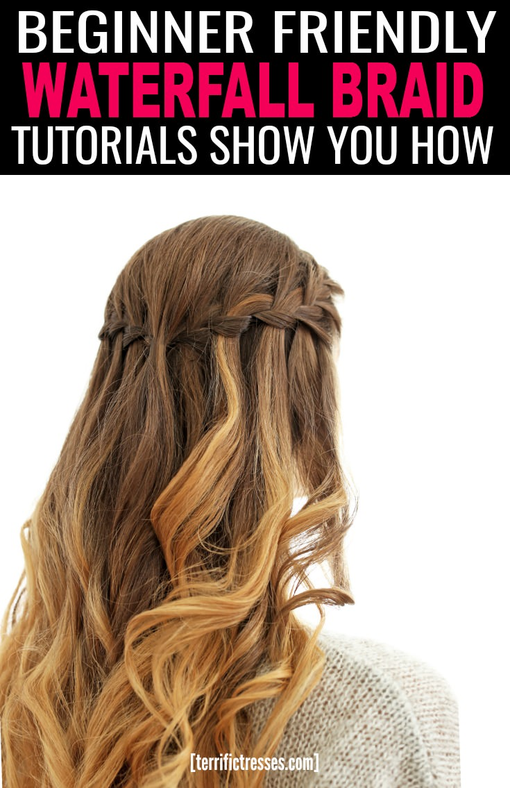 Anyone obsessed with braiding their hair loves the cascading look of a whimsical waterfall braid. This breezy summer look is an easy upgrade from a simple French braid – but only if you know how. Luckily it's not hard. Especially once the magic behind this one is broken down for you. Get the 411 on this boho chic style here. | TerrificTresses.com