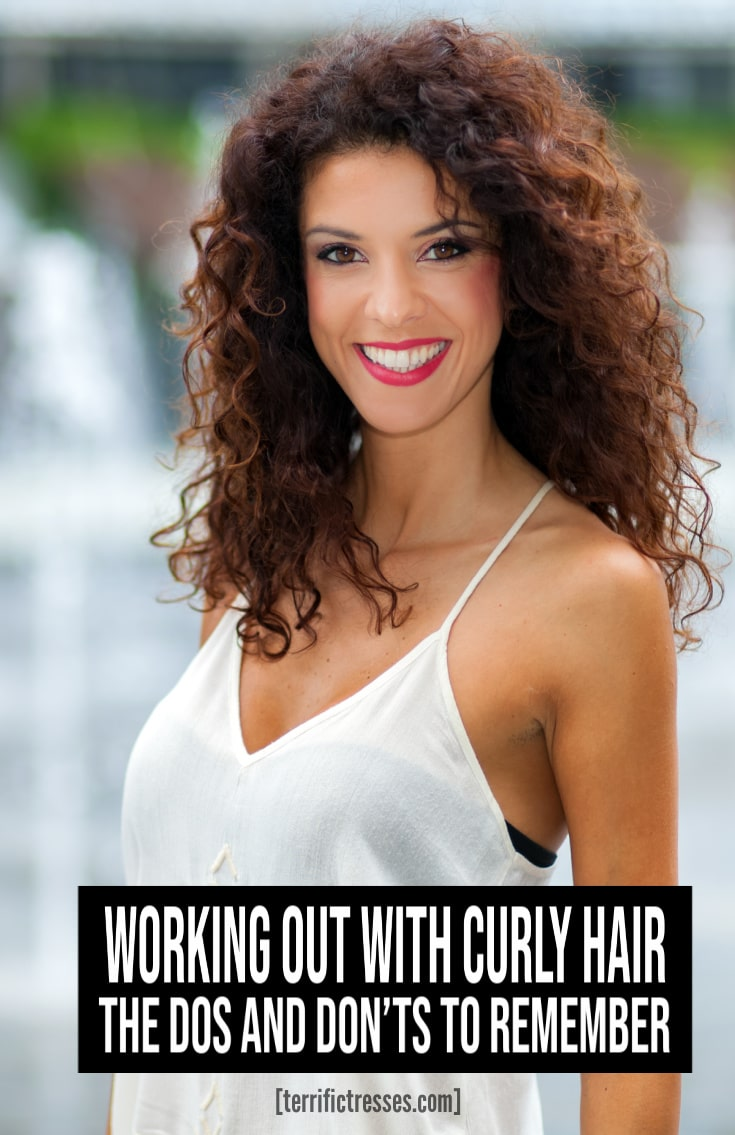 The Do\'s and Don\'ts of Working Out With Curly Hair