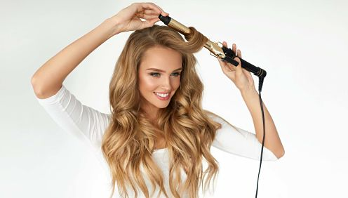 how to curl your hair with a curling iron for beginners
